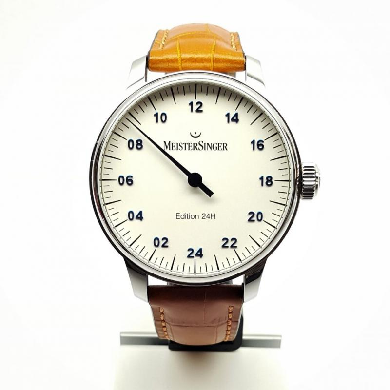 Meistersinger lim. Edition 24 heures ED2018-24H01 opaline-argent